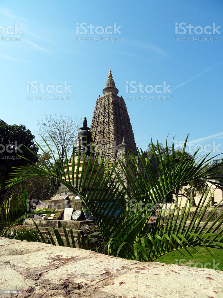 Mahabodhi Temple royalty-free stock photo