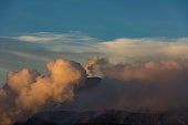 Mahameru (Semeru) above Mount Bromo, East Java
