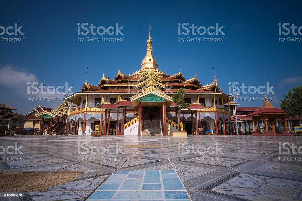 Mahamuni Paya, Mandalay, Myanmar. stock photo