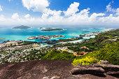 Mahe Coastline View, Seychelles