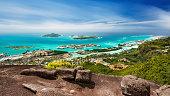 Mahe Long Exposure View, Seychelles