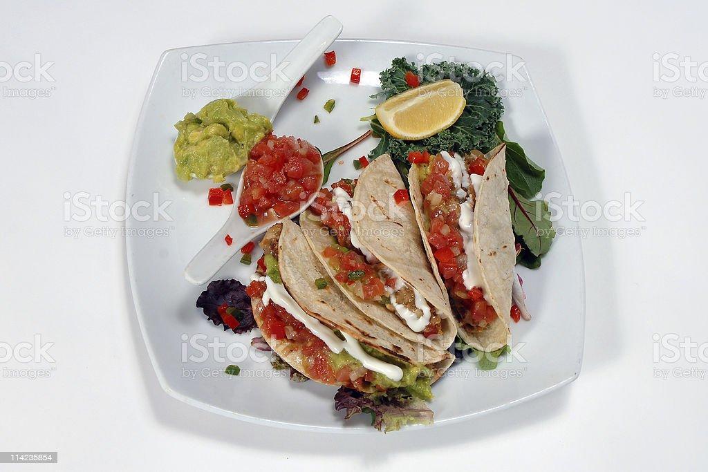 MahiMahi Tacos stock photo