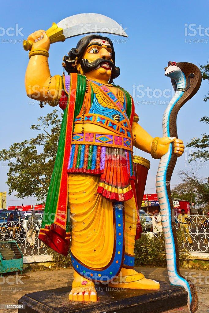 Mahishasura stock photo