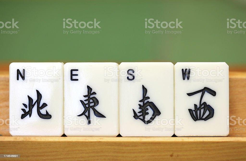 Mahjong royalty-free stock photo