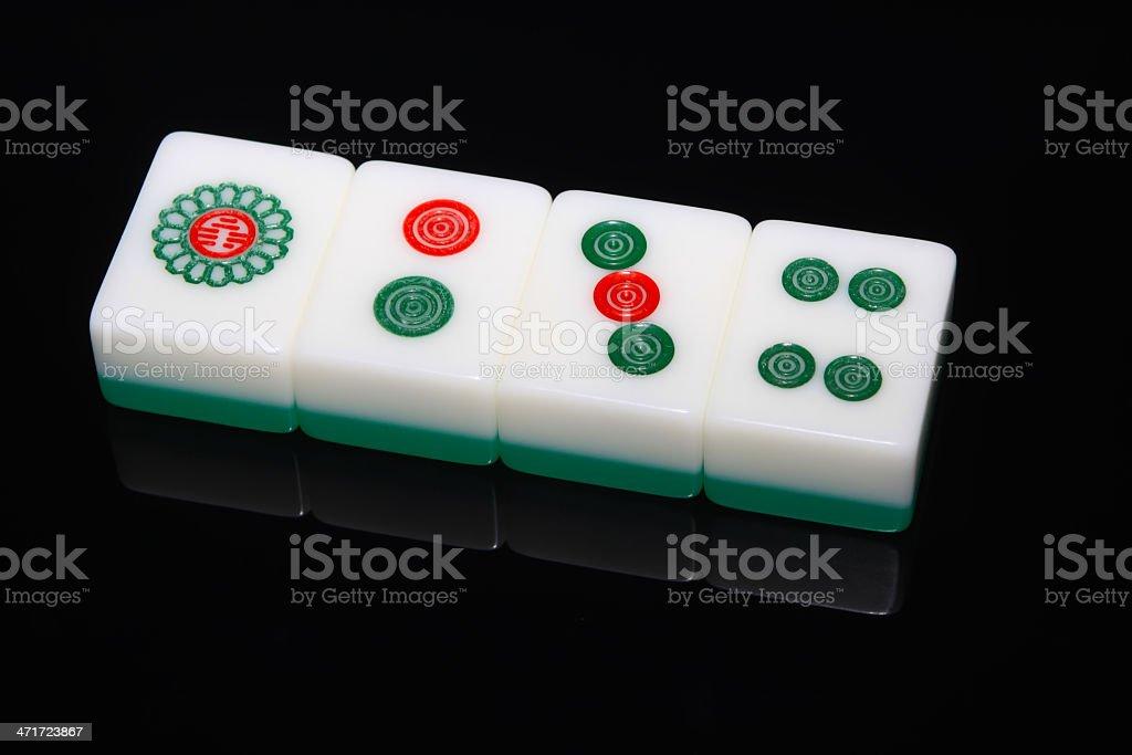 mahjong tiles royalty-free stock photo