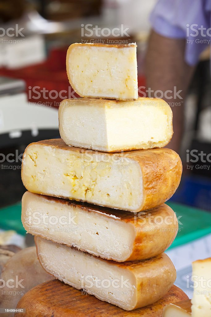 Mahon Cheese stock photo