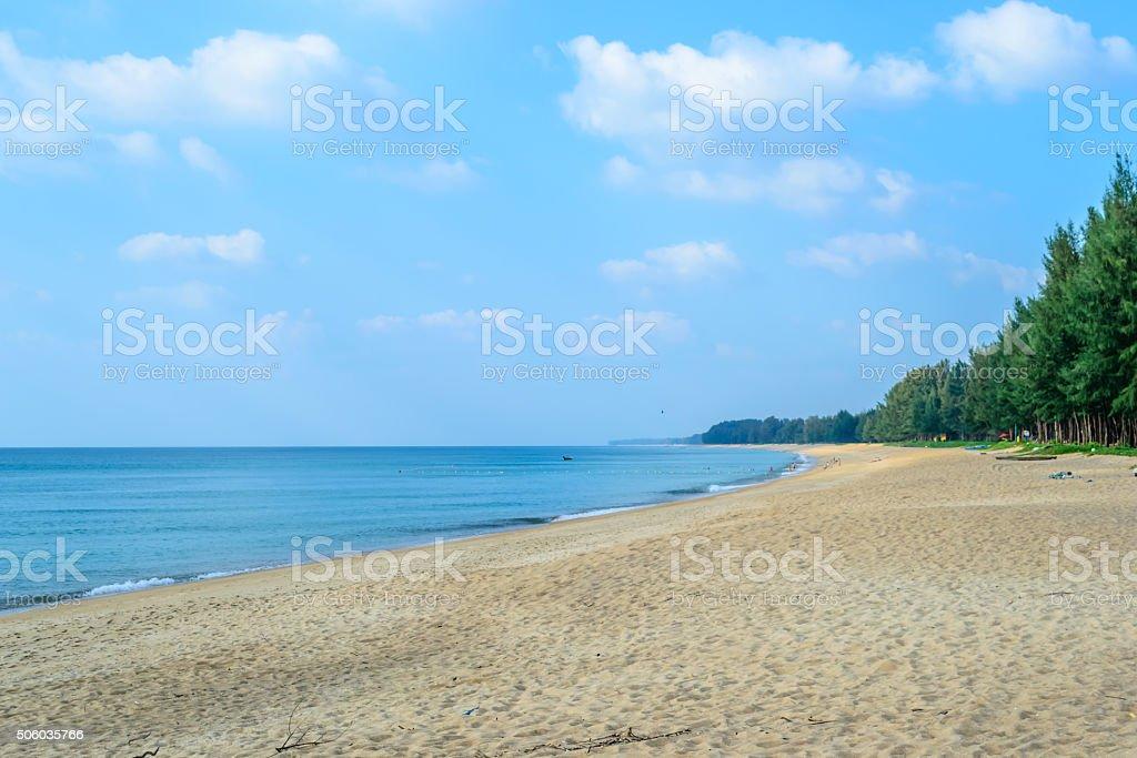 Mai Khao Beach,Phuket Thailand stock photo