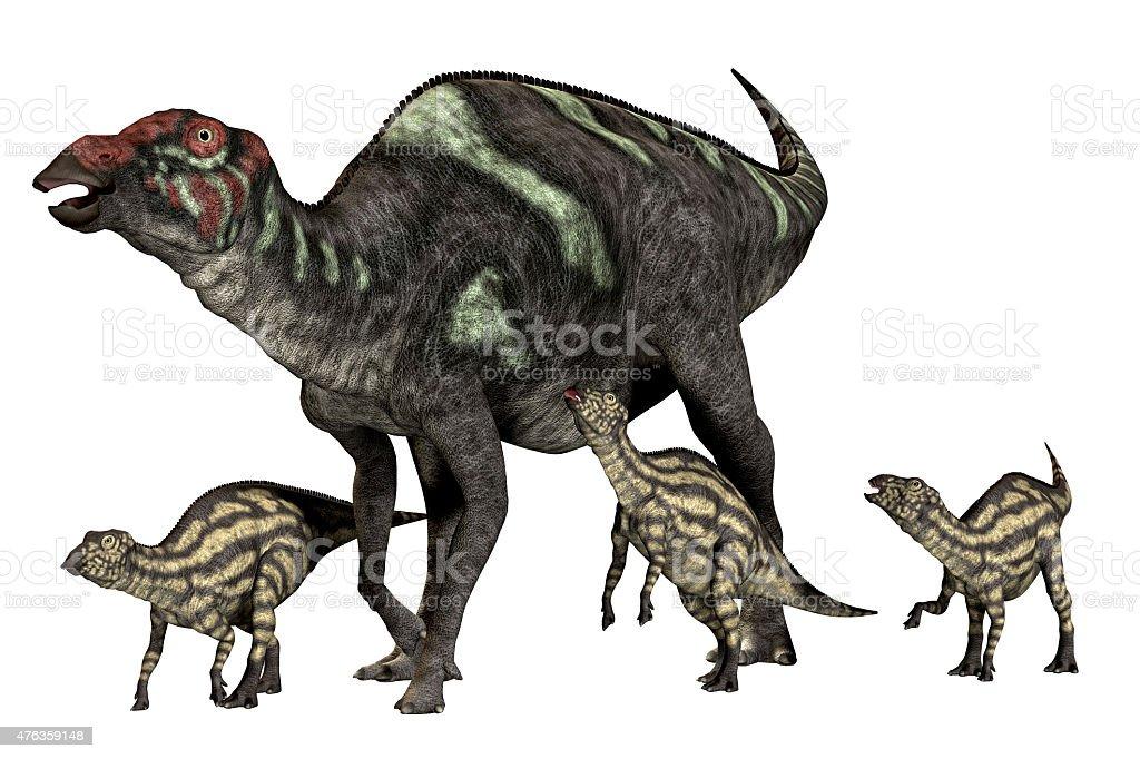 Maiasaurus Good Mother stock photo