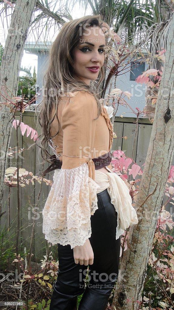 Maid marion babe stock photo
