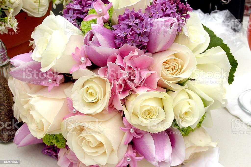 Maid of Honor's Bouquet royalty-free stock photo