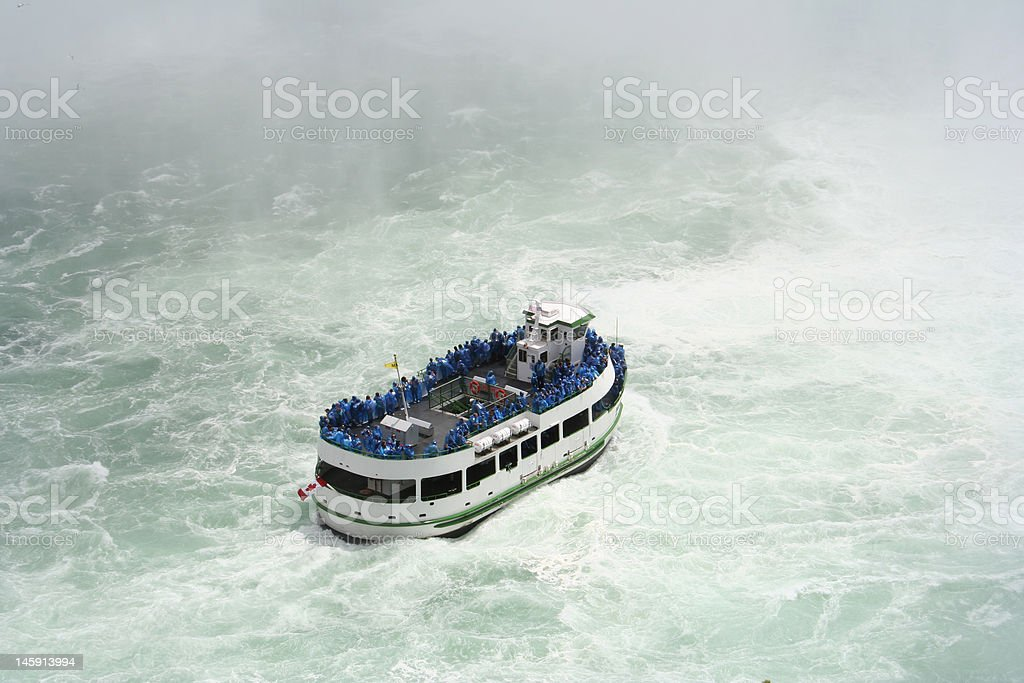 Maid of the Mist, Canada royalty-free stock photo