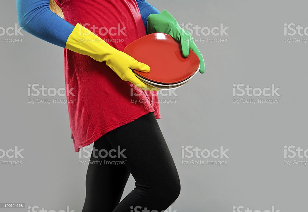 Maid royalty-free stock photo