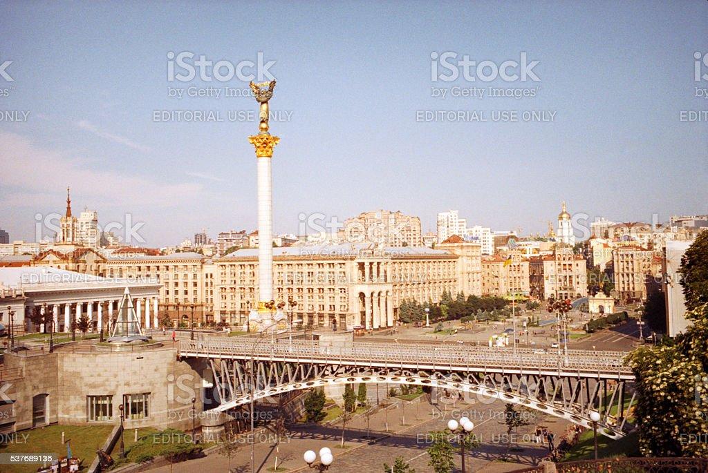 Maidan Nezalezhnosti stock photo