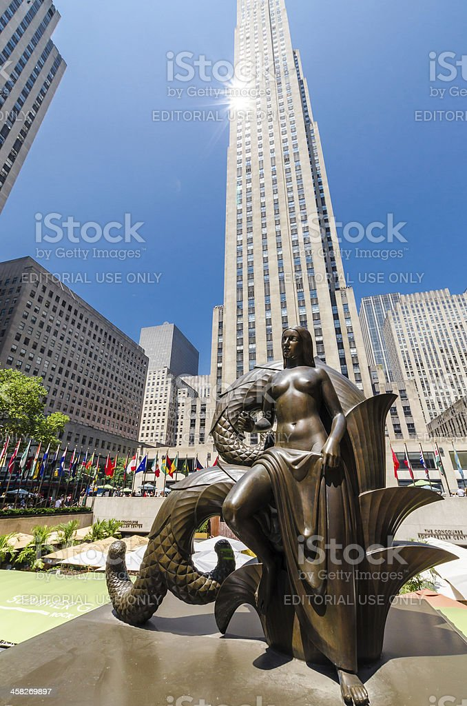 Maiden Statue royalty-free stock photo