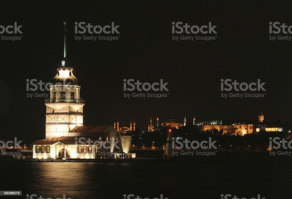Maiden Tower royalty-free stock photo