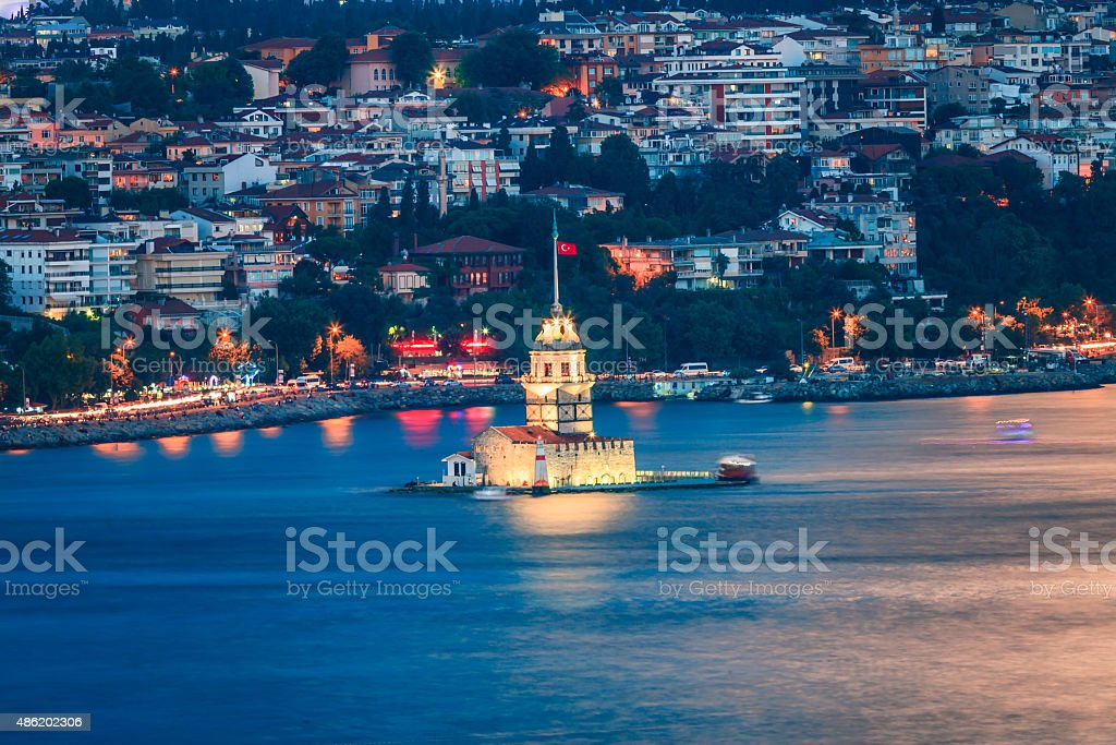 Maiden's Tower / Kiz kulesi stock photo