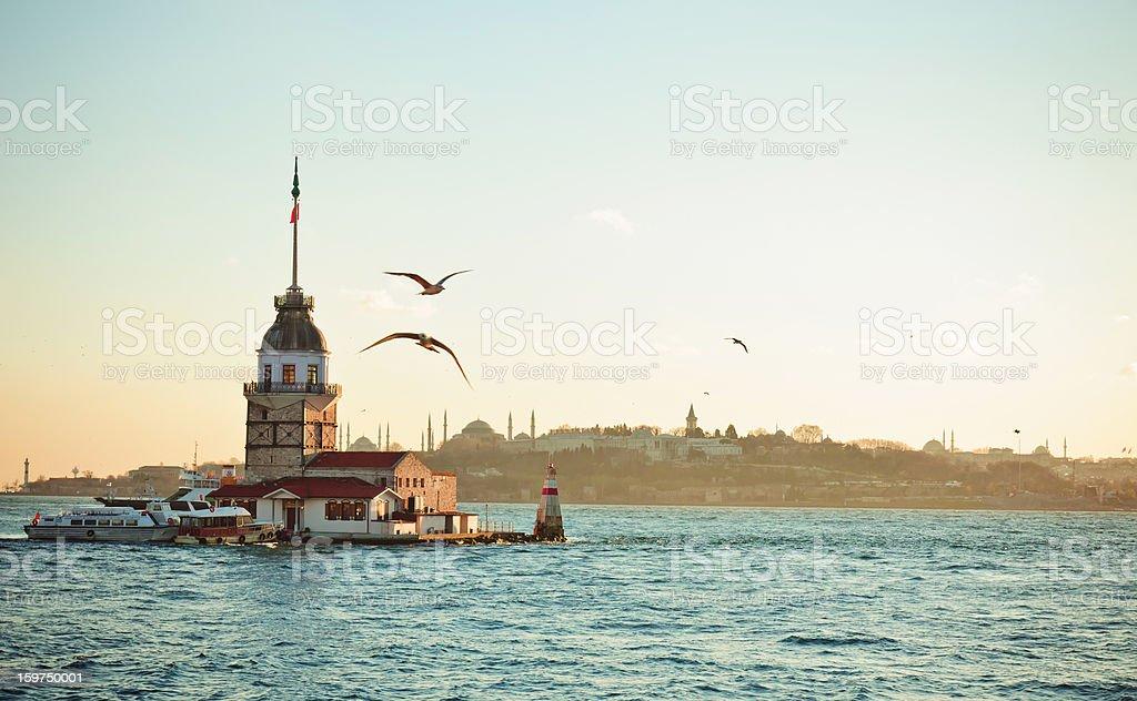 Maiden's Tower / Kiz kulesi XXXL stock photo
