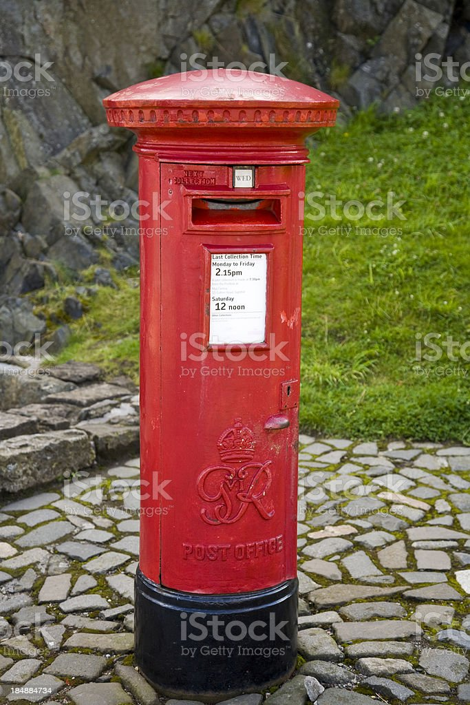 Mail box royalty-free stock photo