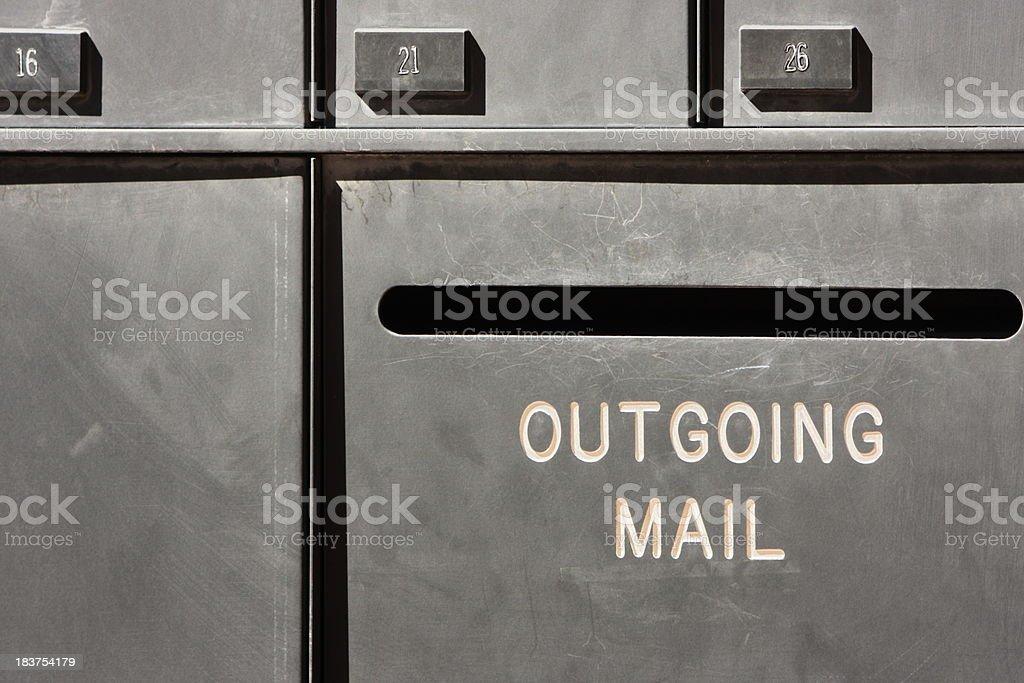 Mail Box Slot royalty-free stock photo