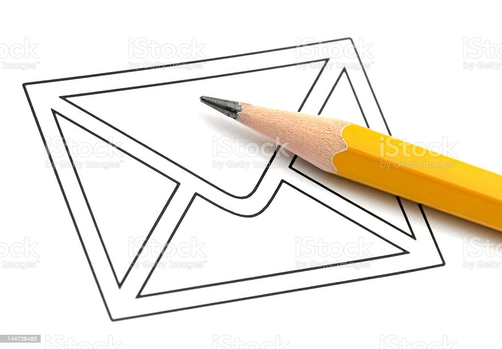 Mail concept royalty-free stock photo