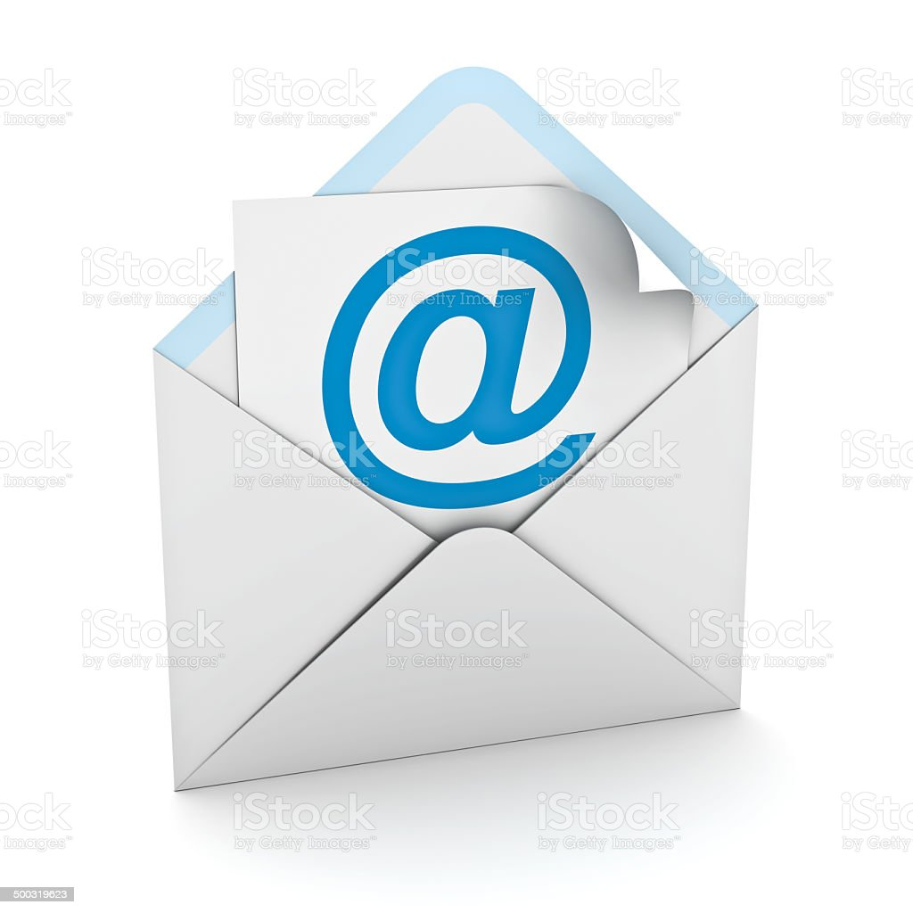 E mail concept stock photo