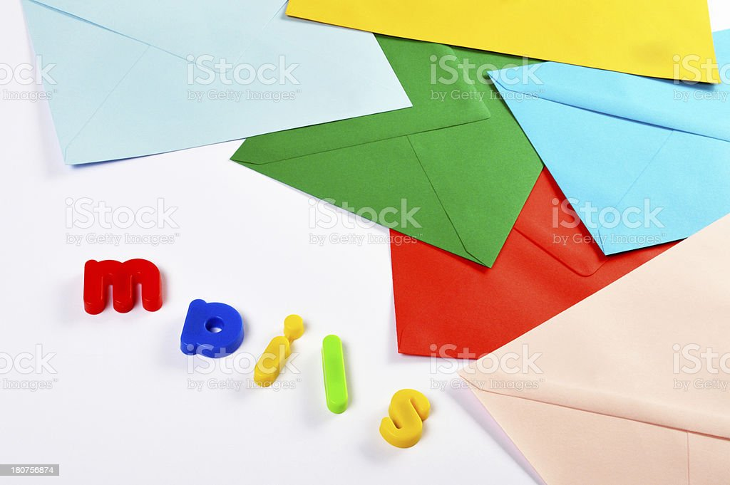 Mail Concepts (Click for more) royalty-free stock photo