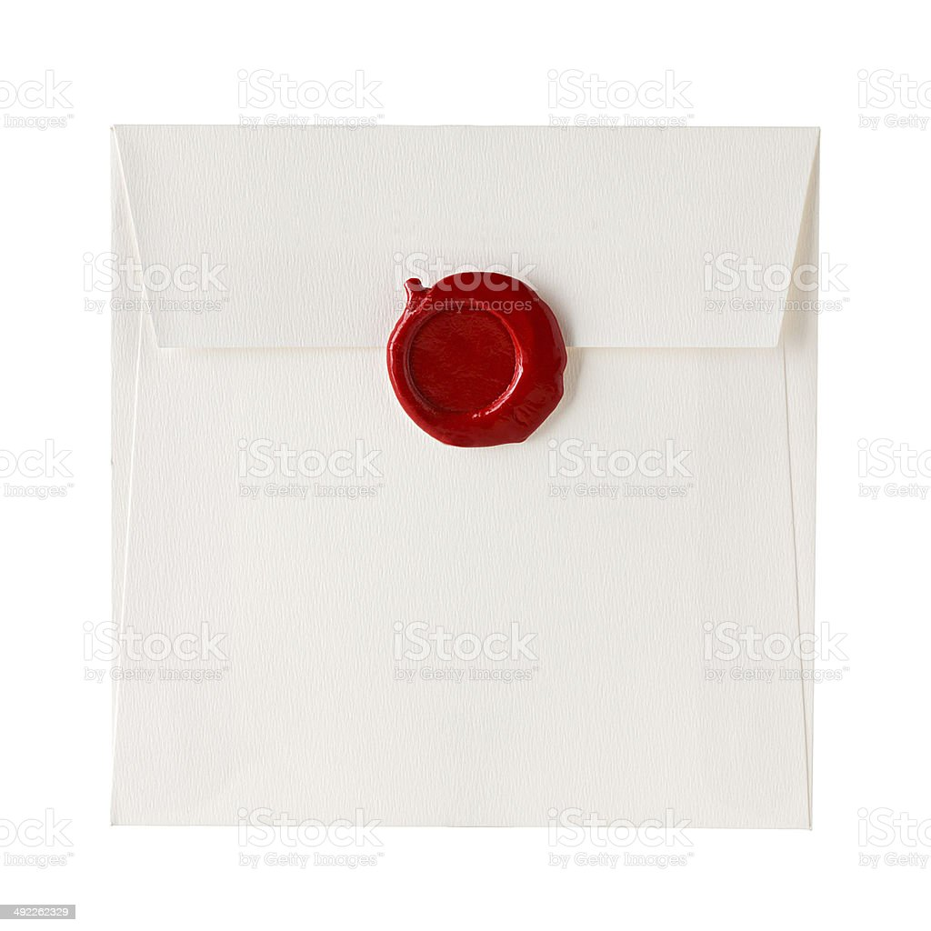 mail envelope stock photo