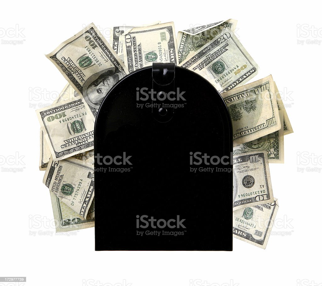 Mail in Rebate stock photo
