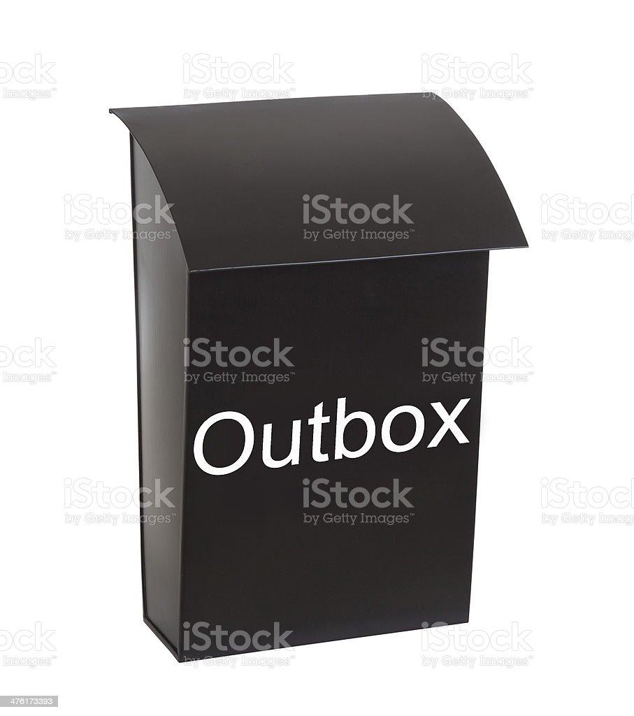 Mail Metaphore royalty-free stock photo