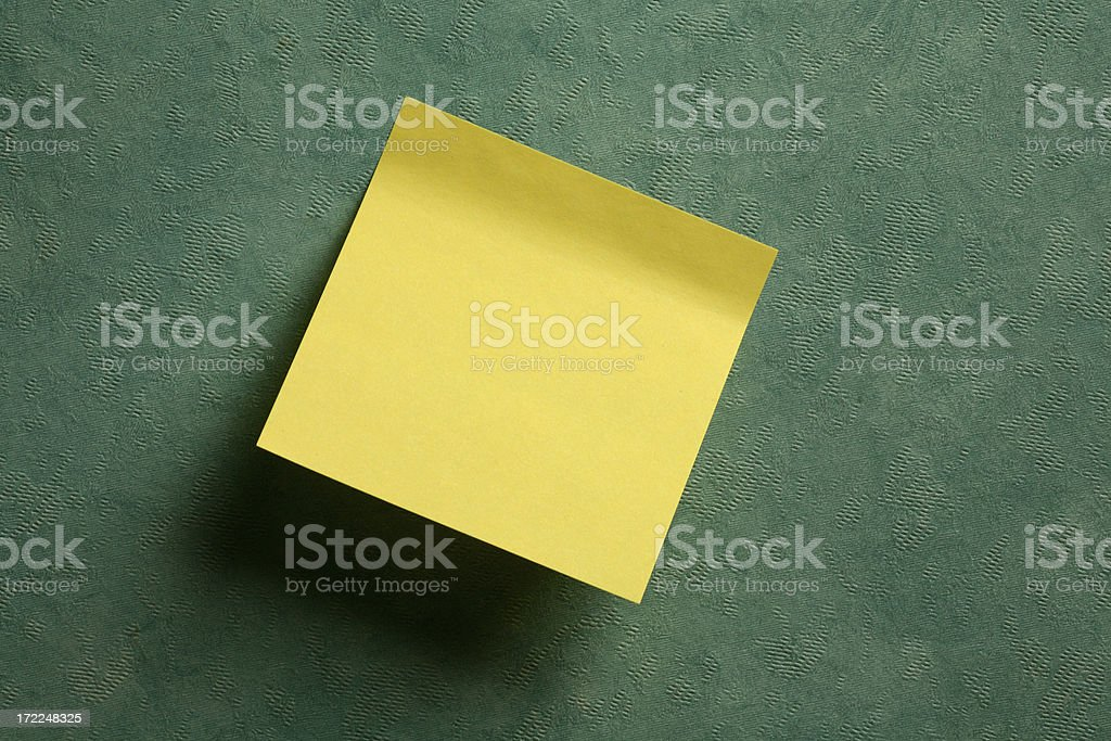 Postit royalty-free stock photo