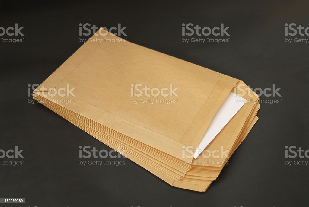 Mail. stock photo