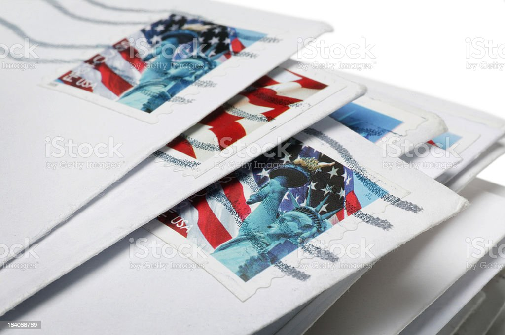 US Mail stock photo
