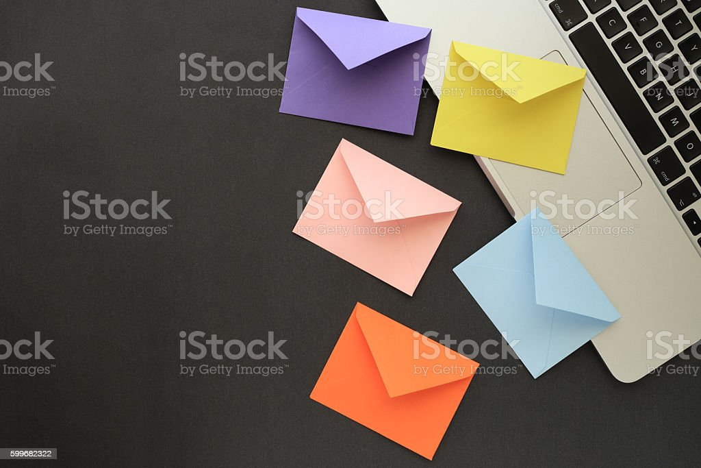 Mail stock photo