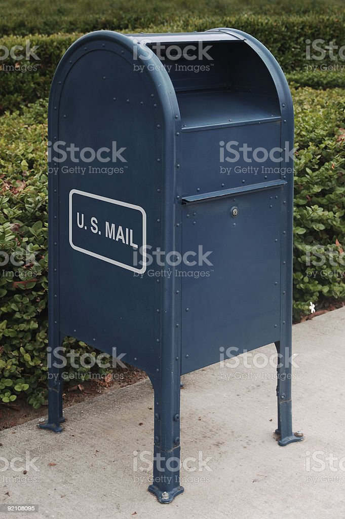 US Mail royalty-free stock photo