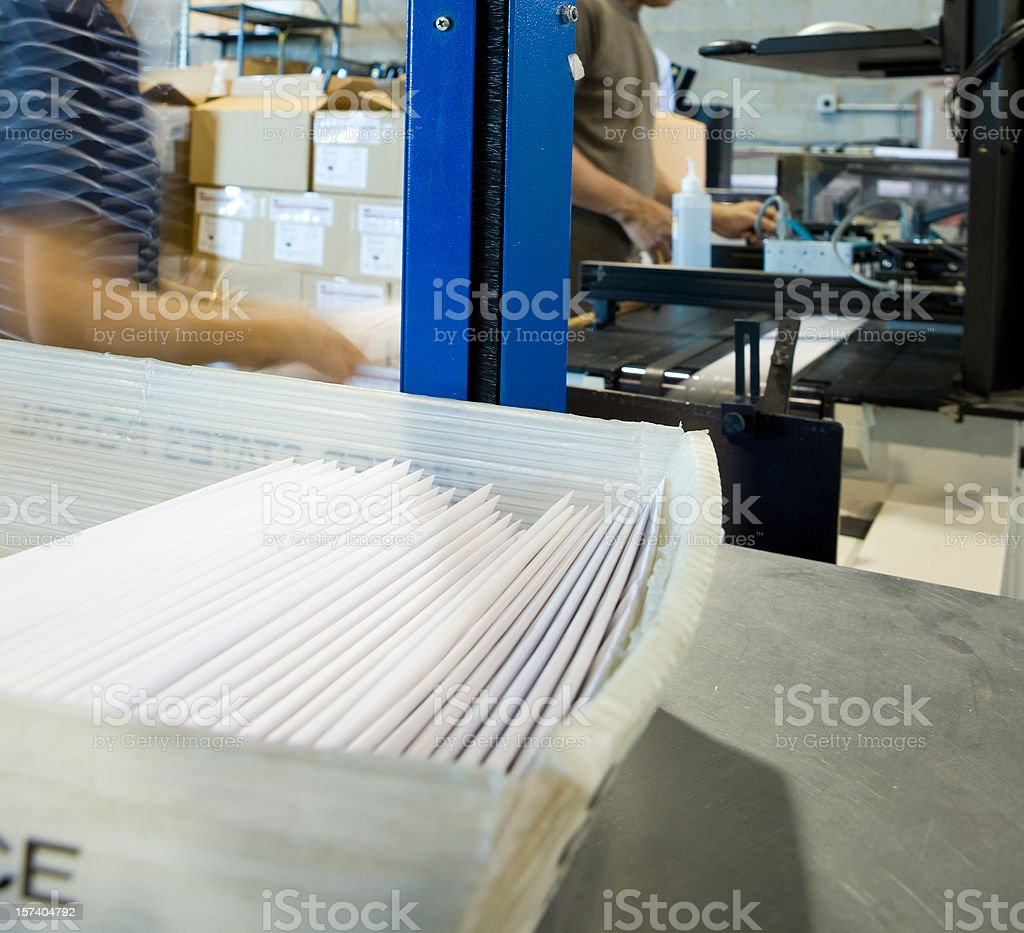 Mail Room stock photo
