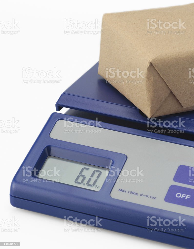 mail scale stock photo