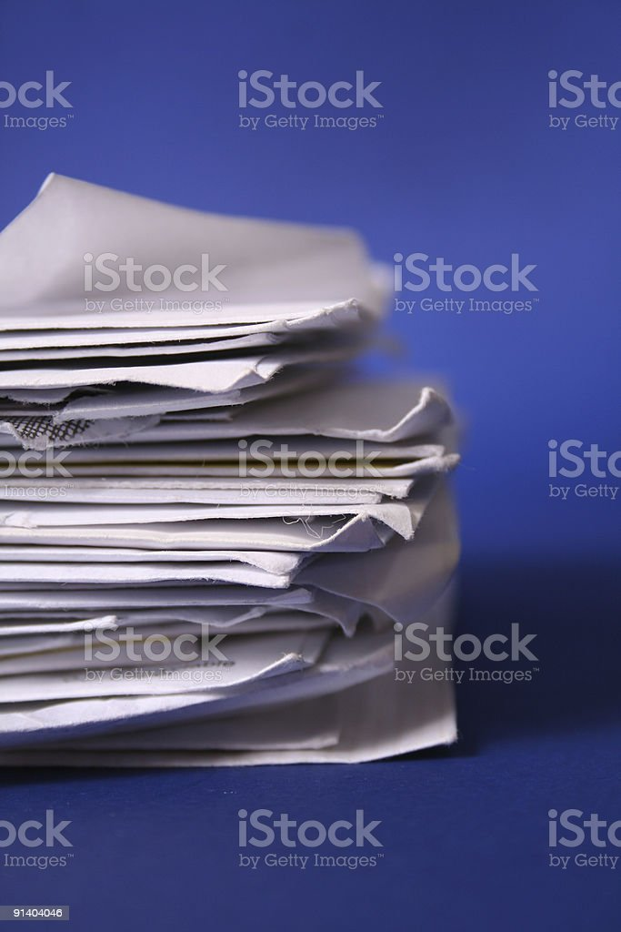 Mail Series royalty-free stock photo