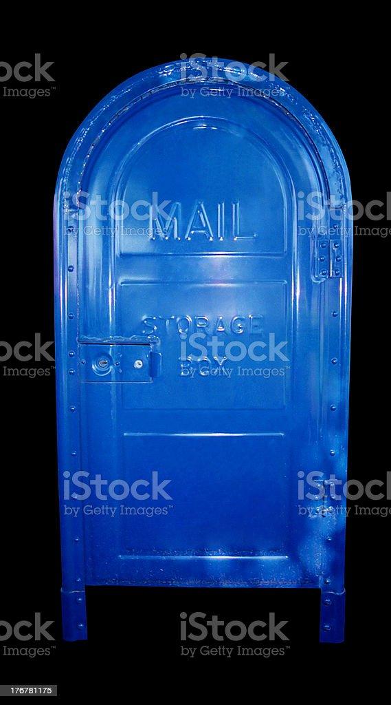 Mail - Storage box stock photo