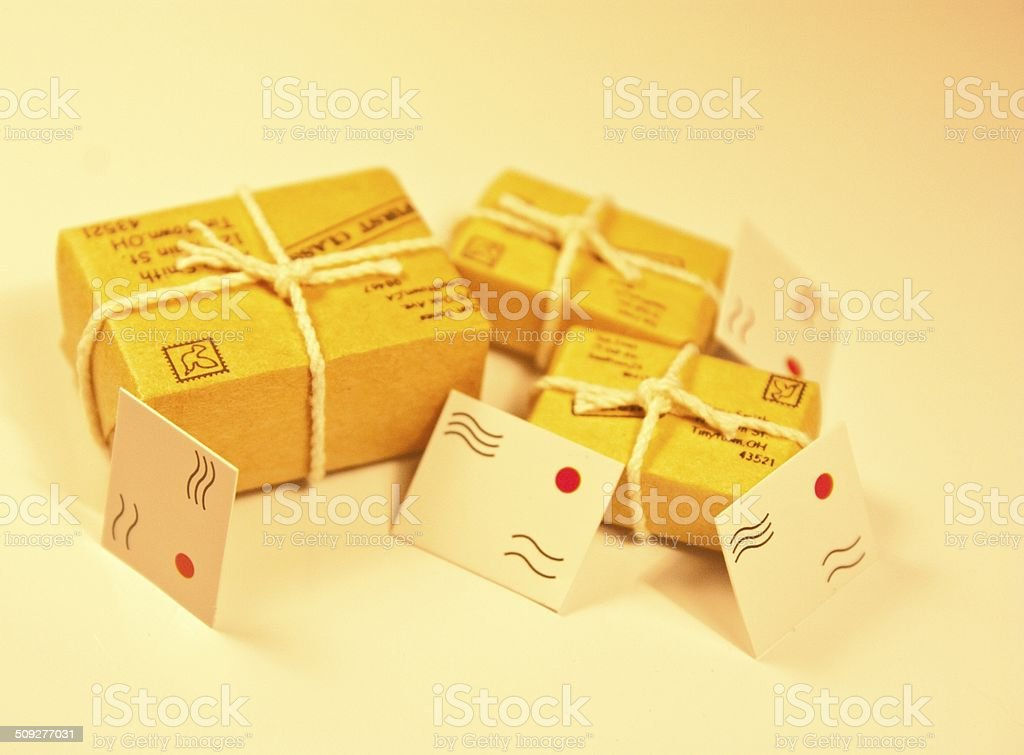 Mail Time stock photo