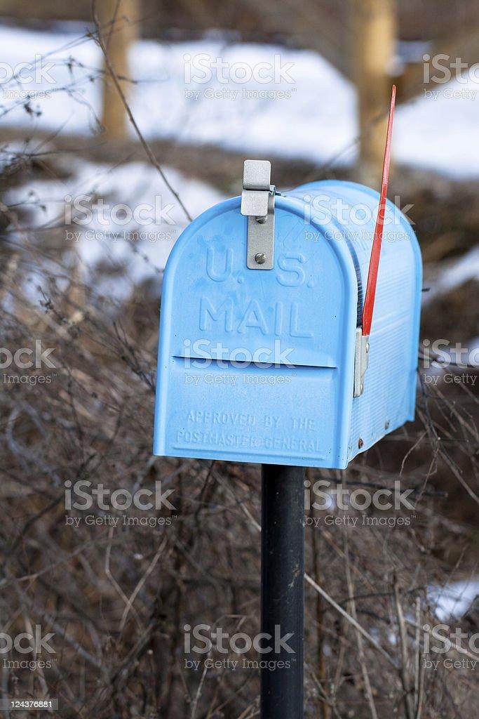 U.S. Mailbox, Communication Equipment stock photo