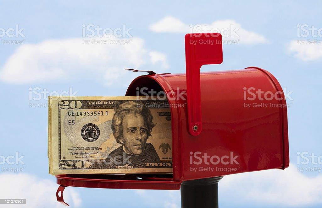 Mailbox royalty-free stock photo