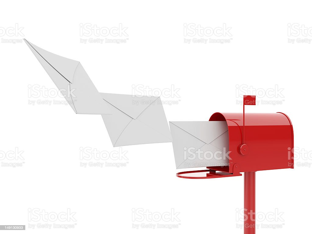 Mailbox royalty-free stock photo