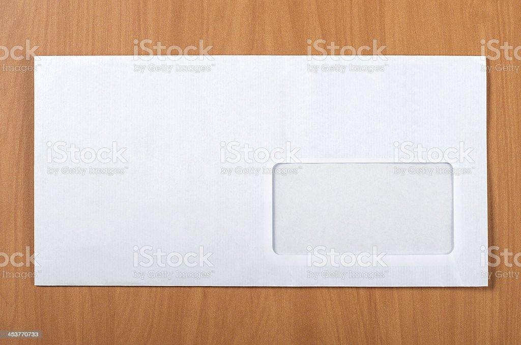 Mailing envelope stock photo
