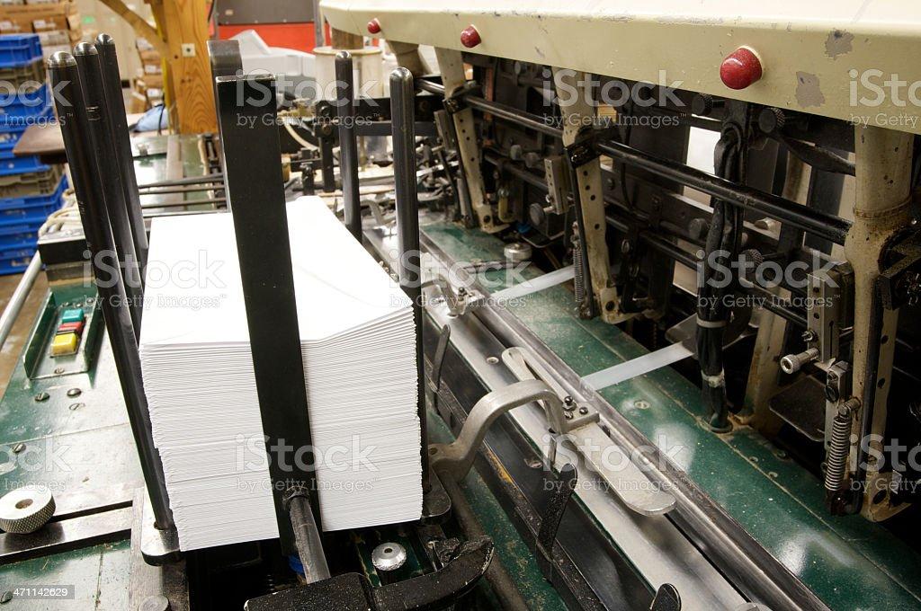 mailing machine royalty-free stock photo