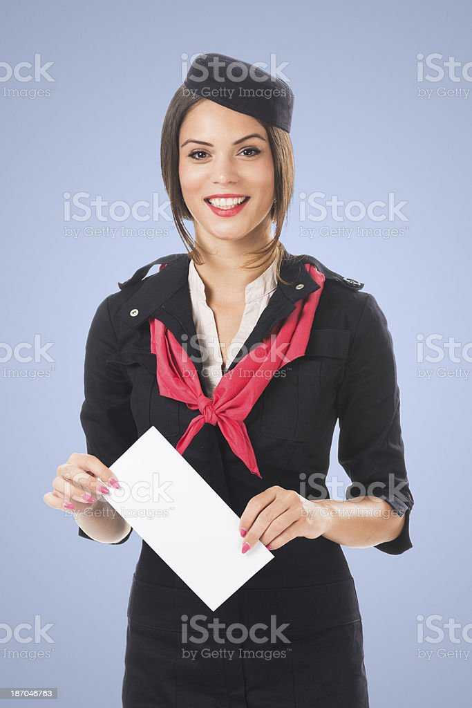 Mailing officer royalty-free stock photo