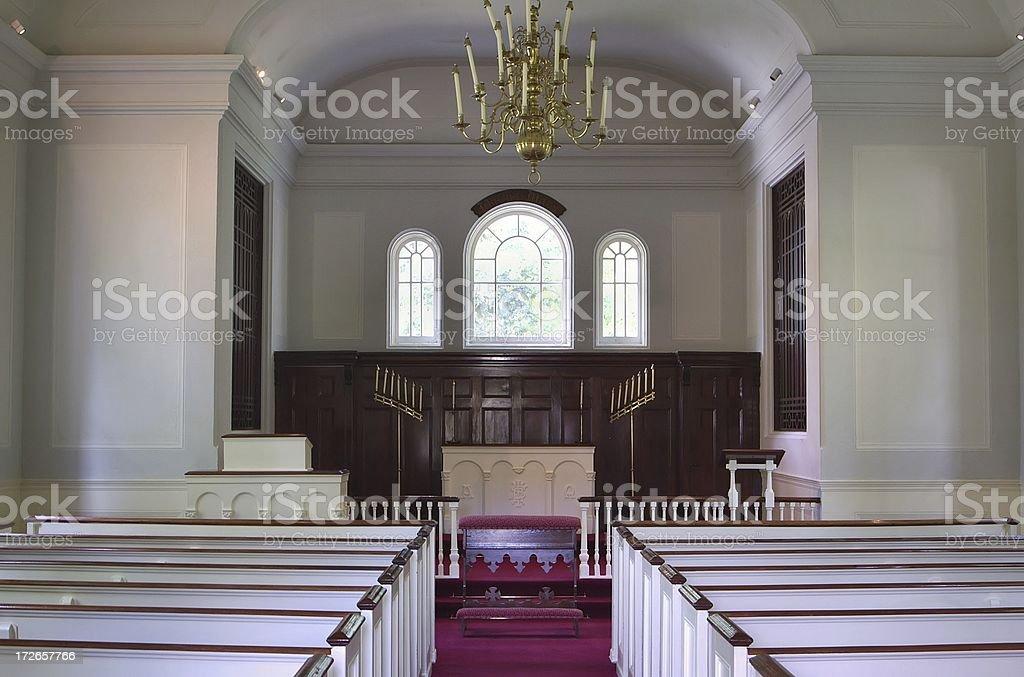 Main Aisle royalty-free stock photo