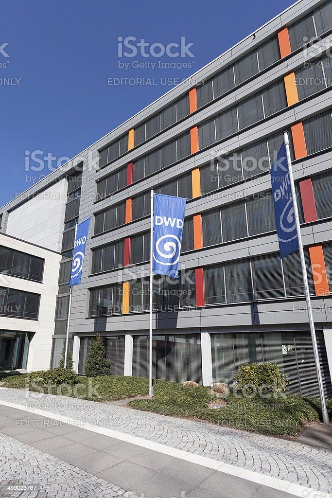 Main building of Deutscher Wetterdienst DWD royalty-free stock photo