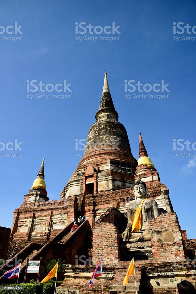 Main Chedi stock photo