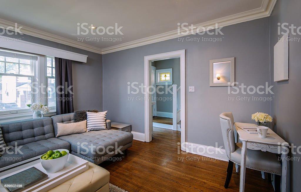 Main floor interior stock photo