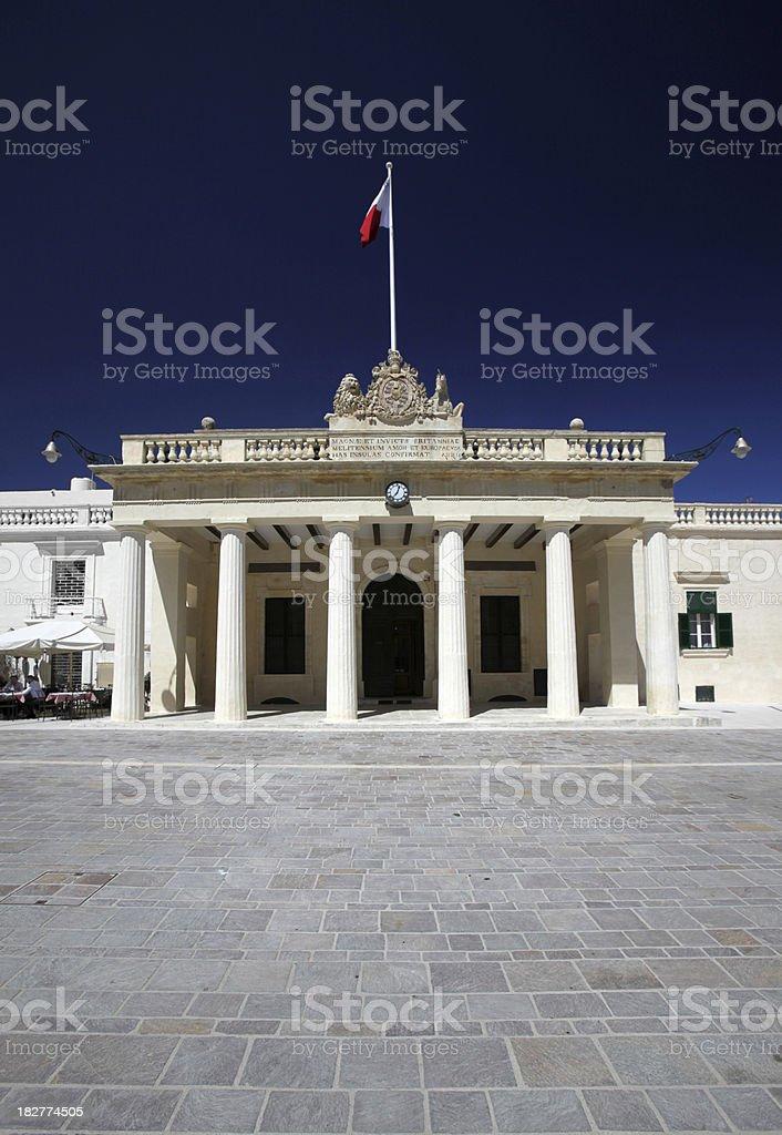 Main Guard, Valletta, Malta stock photo